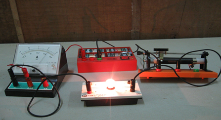 Experiment to measure amperage