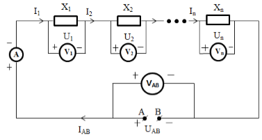 Circuits connected in series