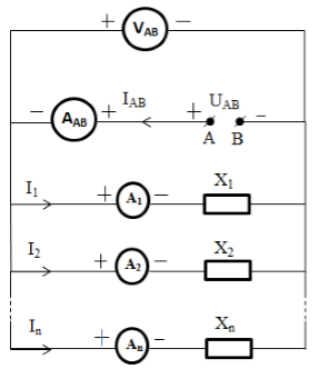 Electric circuit in parallel