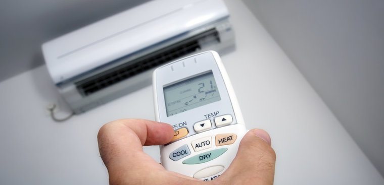 Quick cooling mode on air conditioner