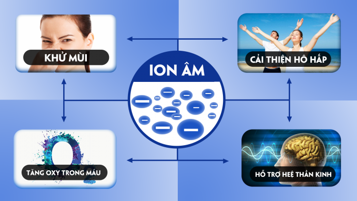 The effect of negative ions