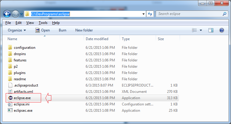 Open the software by running the file