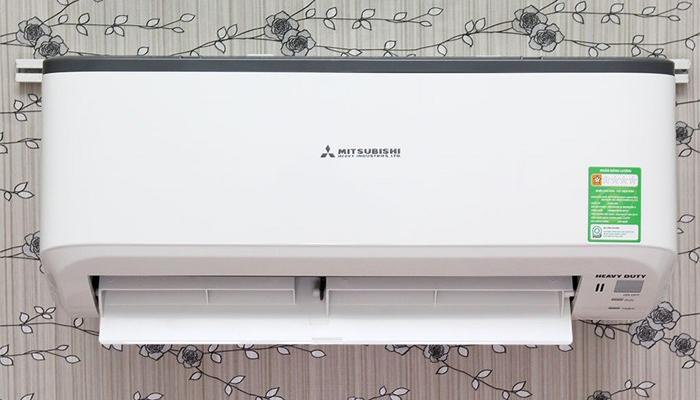 A model of Mitsushibi air conditioner equipped with timer mode