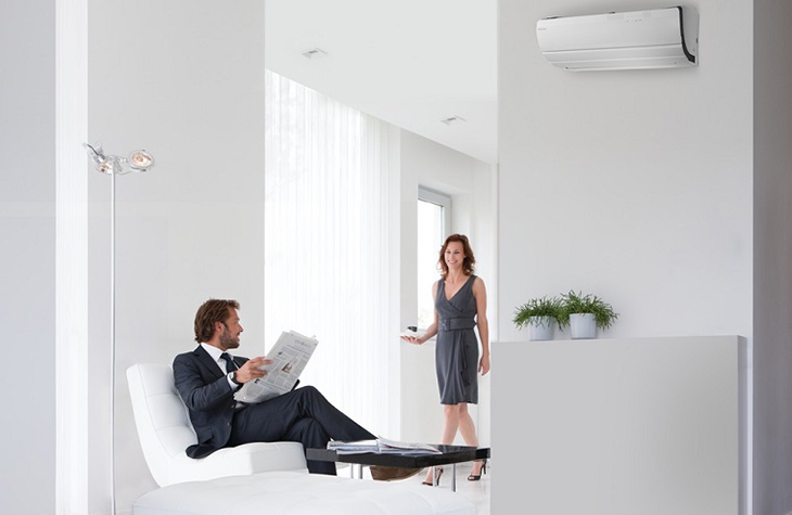 Rearrange furniture so that it does not block the ventilation of the air conditioner