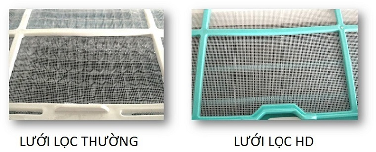 Remove up to 50% of airborne dust with HD filter