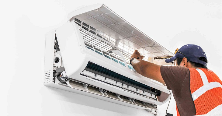 Make sure to clean the air conditioner periodically to remove allergens
