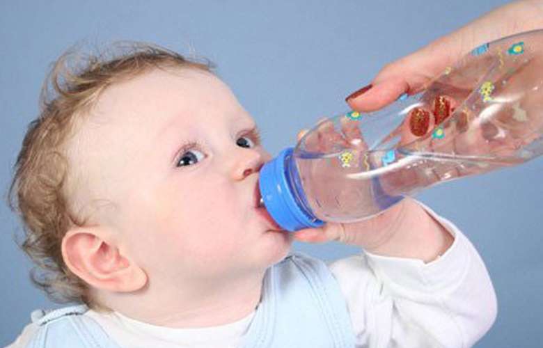 Give your child plenty of water to drink