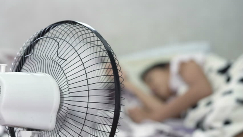 Advantages of using a fan to sleep