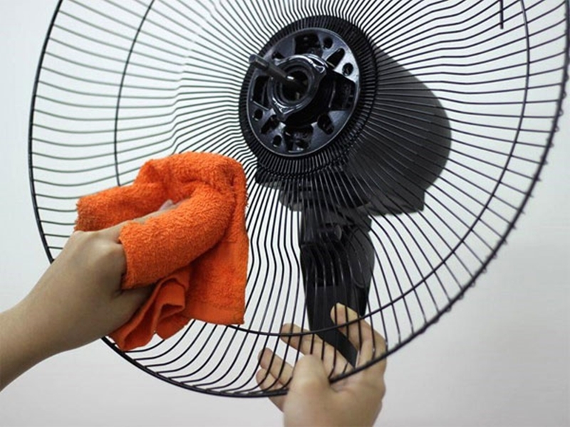 Note when using a fan while sleeping