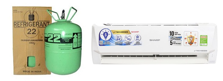 Recharge gas r22 for air conditioner