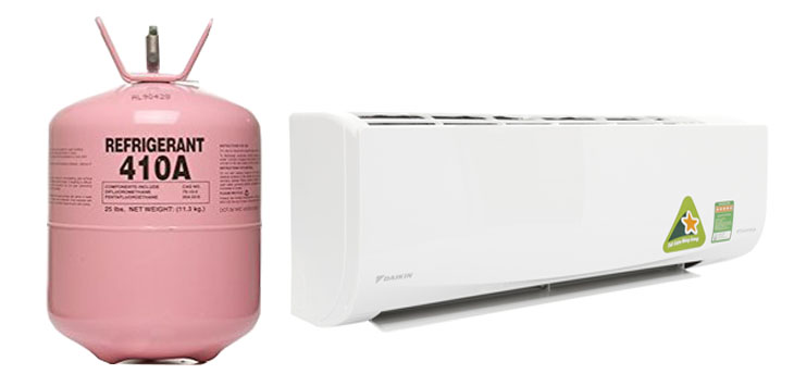 Recharge gas r 410 for air conditioner
