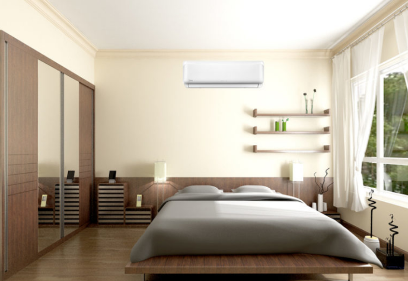 Install the air conditioner in the right position
