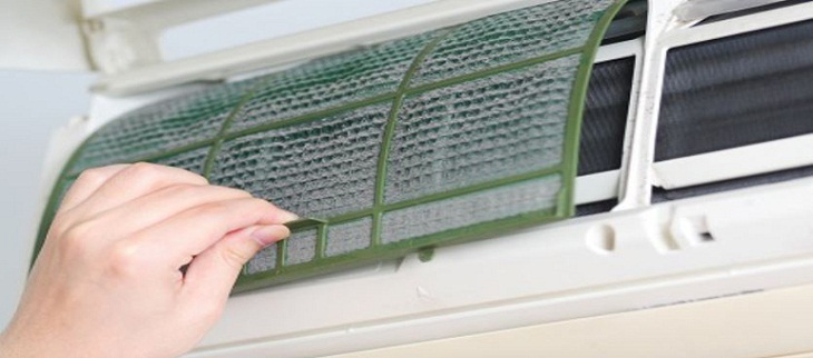 Replace air conditioner filter
