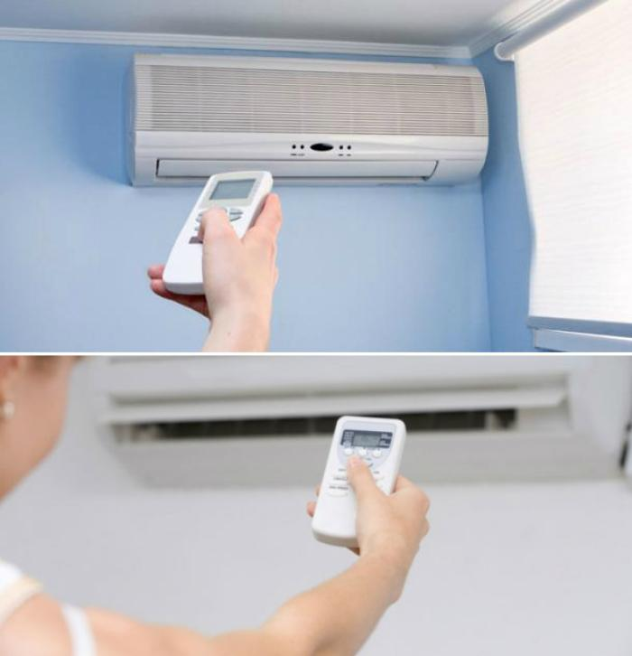Adjust the temperature difference not more than 10 degrees compared to outside