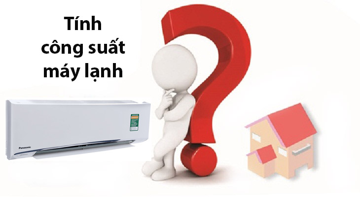Calculate the capacity of the air conditioner in accordance with the area