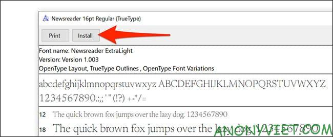 How to use Google Font in Microsoft Word 41