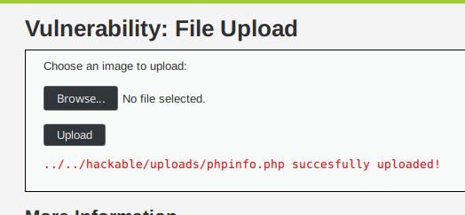 How to exploit File Upload vulnerability
