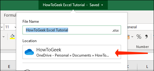 How to automatically save Excel files to OneDrive 72