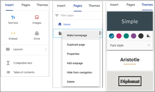 How to use Google Sites 47