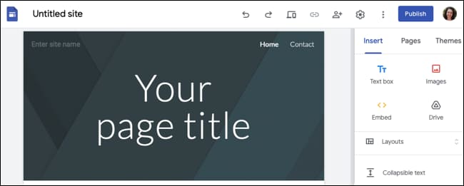 How to use Google Sites 44