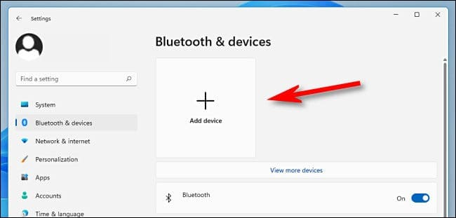 pairing with windows 11 bluetooth device